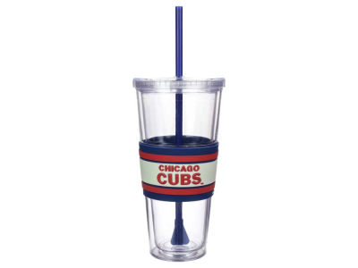 Chicago Cubs 22oz Hyped Straw Tumbler