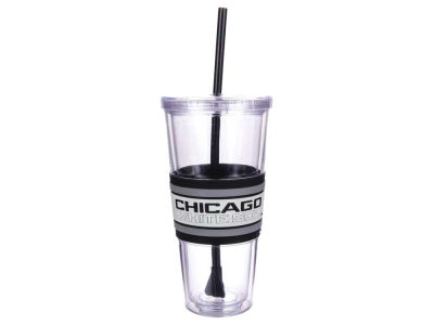 Chicago White Sox 22oz Hyped Straw Tumbler