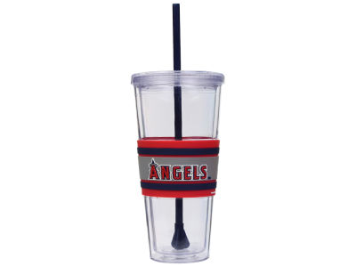 Los Angeles Angels 22oz Hyped Straw Tumbler