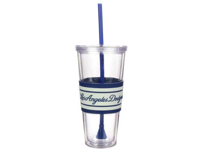 Los Angeles Dodgers 22oz Hyped Straw Tumbler