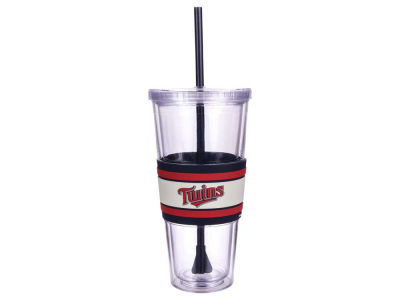Minnesota Twins 22oz Hyped Straw Tumbler
