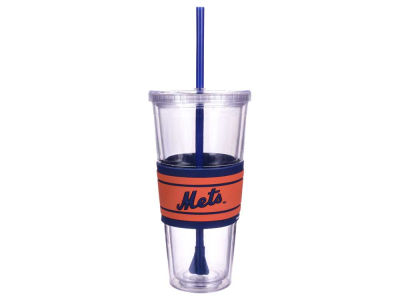 New York Mets 22oz Hyped Straw Tumbler