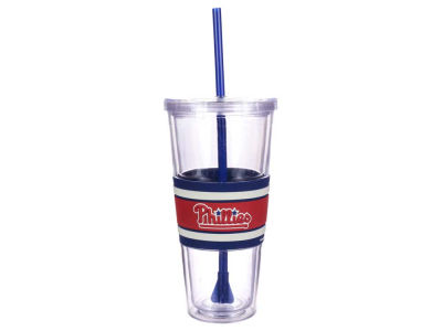 Philadelphia Phillies 22oz Hyped Straw Tumbler