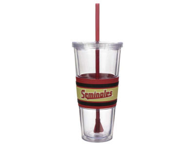 Florida State Seminoles 22oz Hyped Straw Tumbler