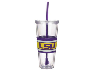 LSU Tigers 22oz Hyped Straw Tumbler