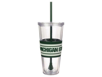 Michigan State Spartans 22oz Hyped Straw Tumbler