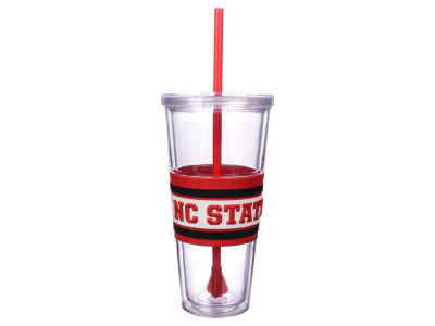 North Carolina State Wolfpack 22oz Hyped Straw Tumbler