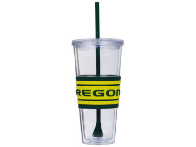 Oregon Ducks 22oz Hyped Straw Tumbler