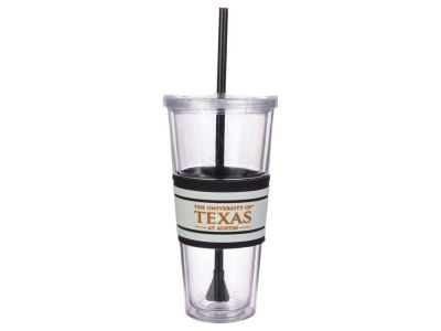 Texas Longhorns 22oz Hyped Straw Tumbler