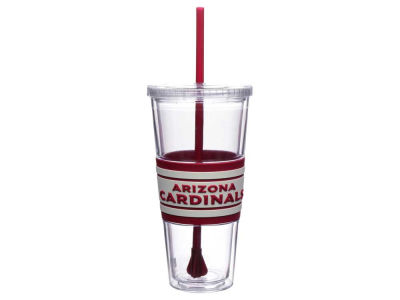 Arizona Cardinals 22oz Hyped Straw Tumbler