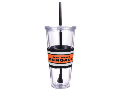 Cincinnati Bengals 22oz Hyped Straw Tumbler
