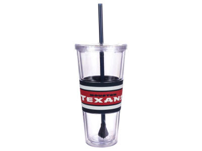 Houston Texans 22oz Hyped Straw Tumbler
