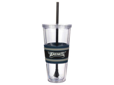 Philadelphia Eagles 22oz Hyped Straw Tumbler