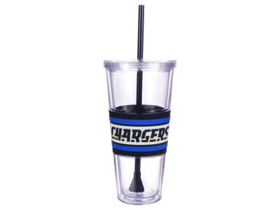 Los Angeles Chargers 22oz Hyped Straw Tumbler
