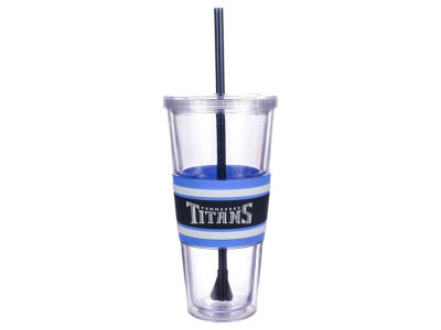 Tennessee Titans 22oz Hyped Straw Tumbler