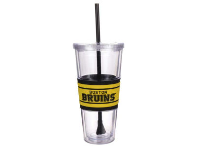 Boston Bruins 22oz Hyped Straw Tumbler