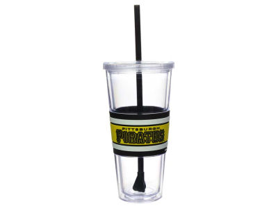 Pittsburgh Pirates 22oz Hyped Straw Tumbler