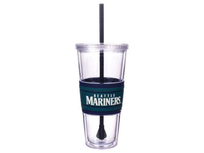 Seattle Mariners 22oz Hyped Straw Tumbler