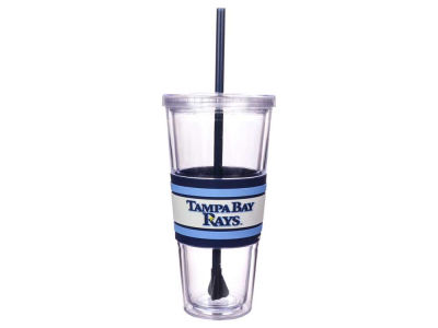 Tampa Bay Rays 22oz Hyped Straw Tumbler