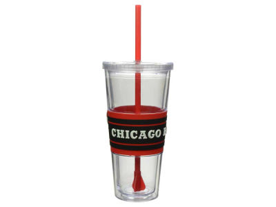Chicago Bulls 22oz Hyped Straw Tumbler