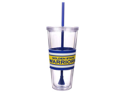 Golden State Warriors 22oz Hyped Straw Tumbler