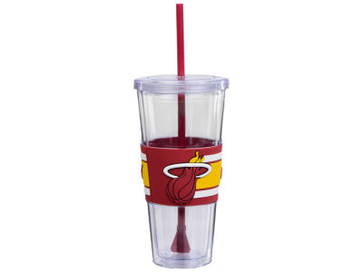 Miami Heat 22oz Hyped Straw Tumbler