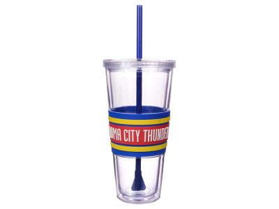 Oklahoma City Thunder 22oz Hyped Straw Tumbler