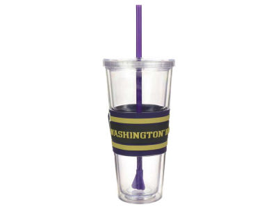 Washington Huskies 22oz Hyped Straw Tumbler
