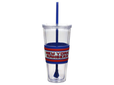 New York Rangers 22oz Hyped Straw Tumbler
