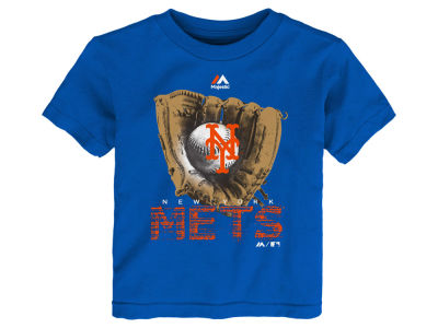 New York Mets MLB Toddler Baseball Mitt T-Shirt