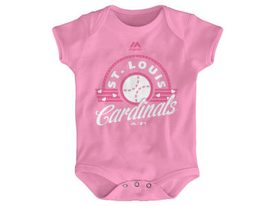 St. Louis Cardinals MLB Infant Girls Creeper