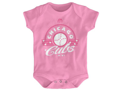 Chicago Cubs MLB Infant Girls Creeper