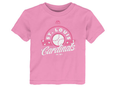St. Louis Cardinals MLB Toddler Girls Baseball T-Shirt