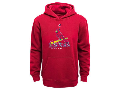 St. Louis Cardinals MLB Youth Primary Logo Hoodie
