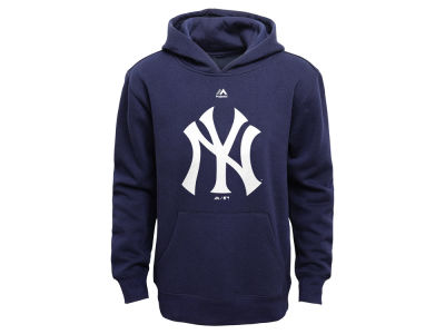 New York Yankees MLB Youth Primary Logo Hoodie