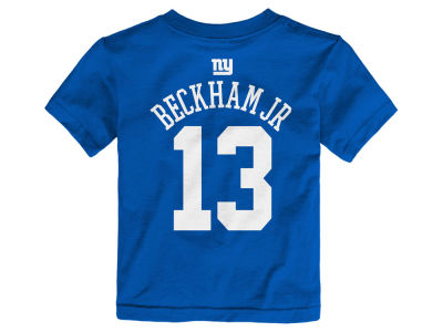 New York Giants Odell Beckham Jr. NFL Toddler Mainliner Player T-Shirt