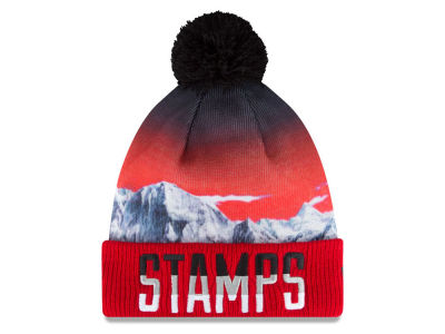 Calgary Stampeders Corey Mace New Era CFL 2015 Player Inspired Knit