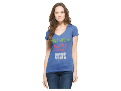Indianapolis Colts '47 NFL Women's MVP V-Neck Scrum T-Shirt