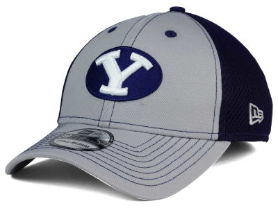 Brigham Young Cougars New Era NCAA Team Front Neo 39THIRTY Cap