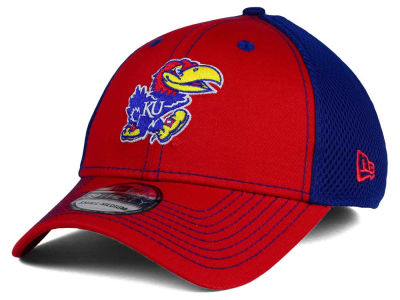 Kansas Jayhawks New Era NCAA Team Front Neo 39THIRTY Cap
