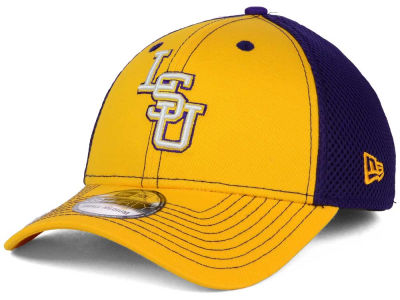 LSU Tigers New Era NCAA Team Front Neo 39THIRTY Cap