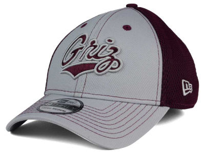 Montana Grizzlies New Era NCAA Team Front Neo 39THIRTY Cap