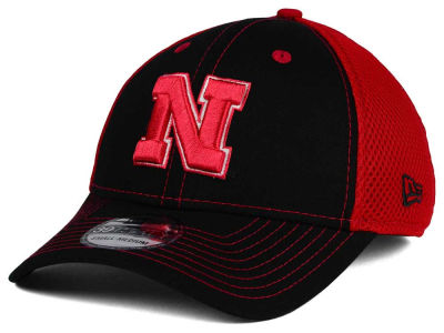 Nebraska Cornhuskers New Era NCAA Team Front Neo 39THIRTY Cap