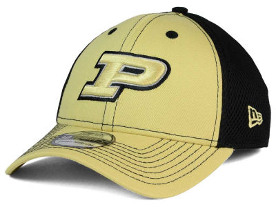 Purdue Boilermakers New Era NCAA Team Front Neo 39THIRTY Cap