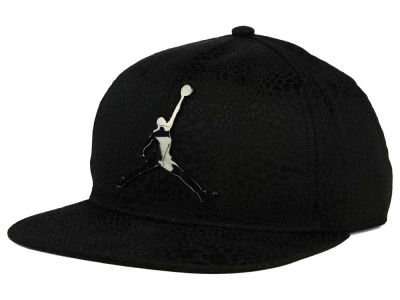 Jordan Black Cat Youth Snapback Hat