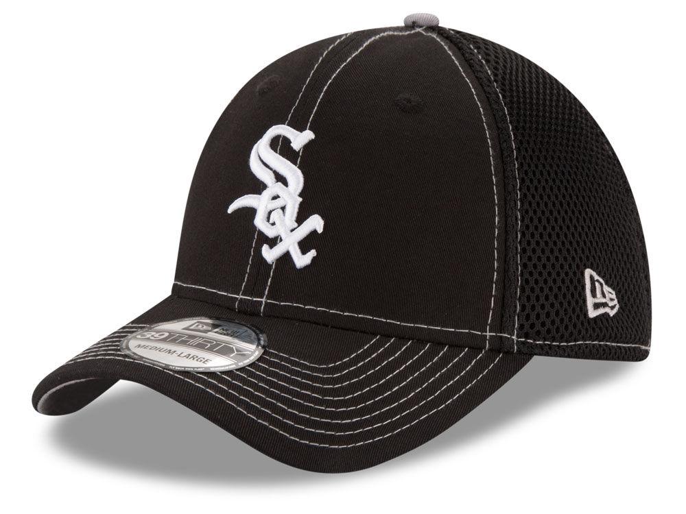 sale retailer 0d43c 62a1f ... sale chicago white sox new era mlb crux line neo 39thirty cap lids  c2b72 daba4