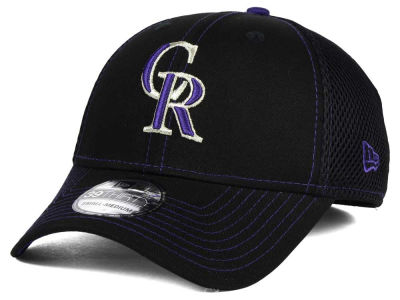 Colorado Rockies New Era MLB Crux Line Neo 39THIRTY Cap