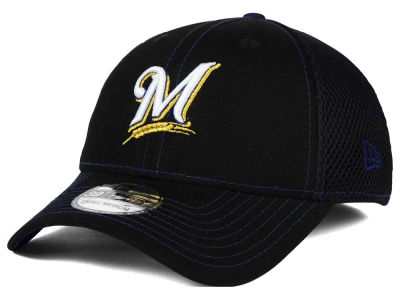 Milwaukee Brewers New Era MLB Crux Line Neo 39THIRTY Cap
