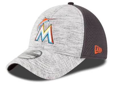 Miami Marlins New Era MLB 2016 Clubhouse 39THIRTY Cap