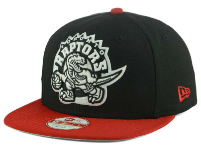 Toronto Raptors New Era NBA Logo Grand Redux 9FIFTY Snapback Cap